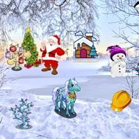 Игра Поиск предметов зимой онлайн