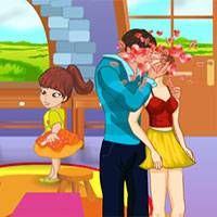 Игра Поцелуи в детском саду онлайн