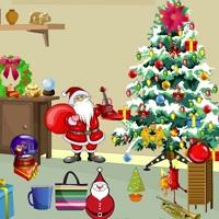 Игра Рождественская вечеринка: поиск предметов онлайн