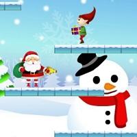 Игра Рождественские сражения с эльфами онлайн