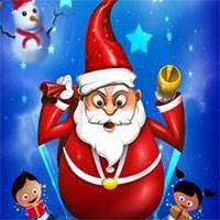 Игра Санта прыгун онлайн