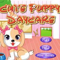 Игра Щенок в детском саду онлайн