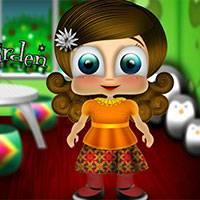 Игра Собираем девочку в детский сад онлайн