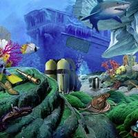 Игра Тайны морских глубин: поиск предметов онлайн