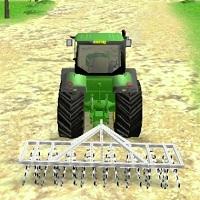 Игра Трактор на ферме 3D онлайн