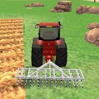 Игра Трактора с Плугом онлайн