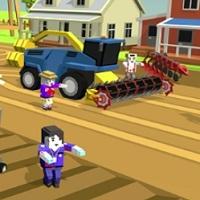 Игра Тракторы и Комбайны онлайн