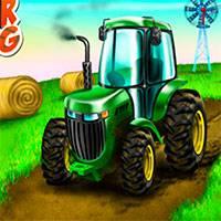 Игра Тракторы по Грязи онлайн
