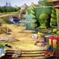 Игра Уборка в парке онлайн