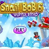 Игра Улитка Боб - Новый Год онлайн