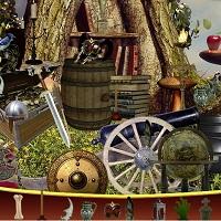 Игра Замок с приведениями: поиск предметов онлайн