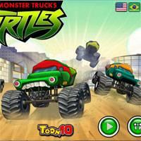 Игра Черепашки ниндзя мультики: гонки на скорость онлайн