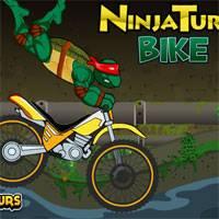 Игра Черепашки ниндзя 2014 : Трюки на мотоцикле онлайн