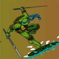 Игра Черепашки ниндзя на двоих: Гонки на серфе онлайн