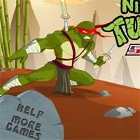 Игра Супер черепашки ниндзя гонки на скорость онлайн