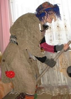 костюм бабы яги своими руками 17