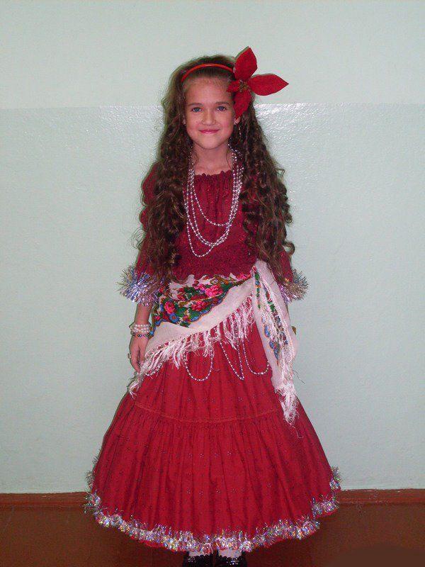 костюм цыганки на девочку