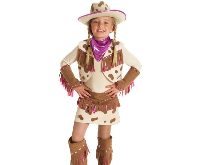 Девичий костюм ковбоя
