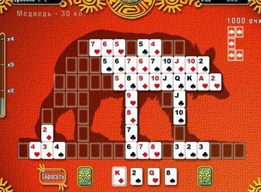 Логический пасьянс играть онлайн бесплатно