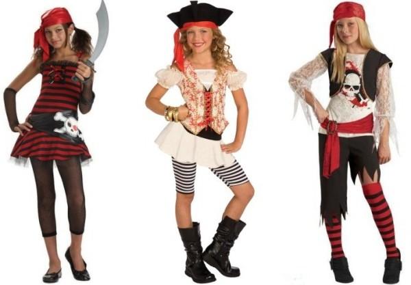 пиратский костюм девочке подростку