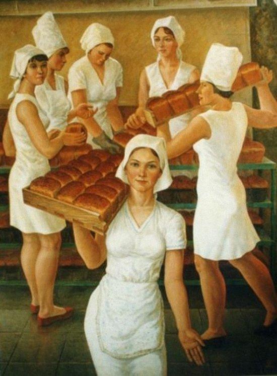 Стихи о профессиях. Пекарь