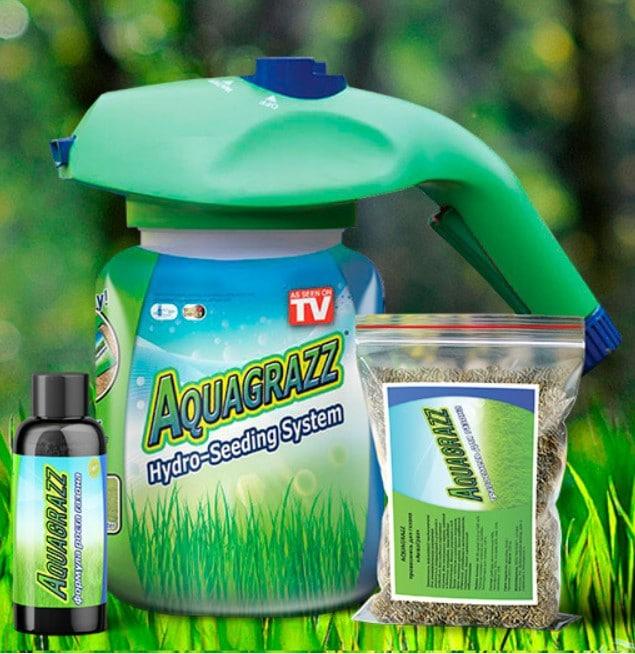 Жидкий газон