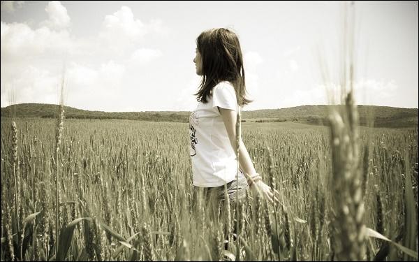 Лето девушка