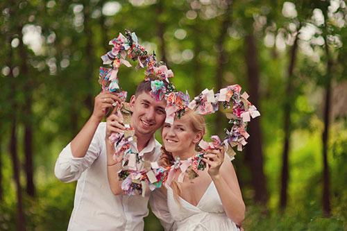Традиции на ситцевую свадьбу