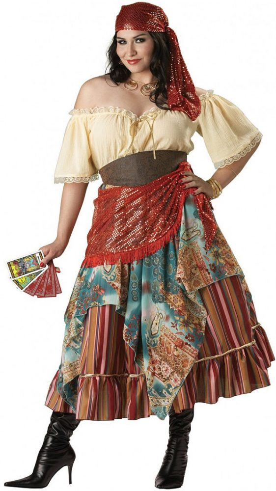 Вариант костюма цыганки