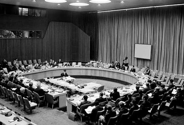 Рисунок 4. Ассамблея ООН, 1972 года