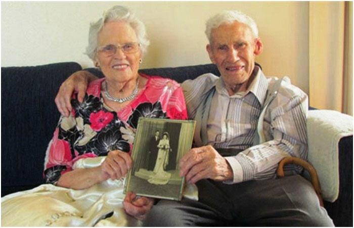 Юбиляры на 65-ую годовщину свадьбы