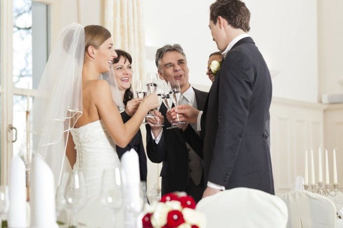Короткий тост на свадьбу