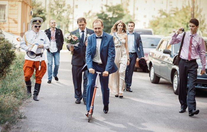 Жених едет за невестой