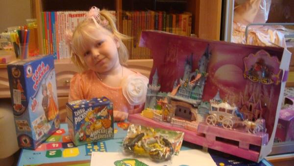 4 день рождения: подарки для девочки