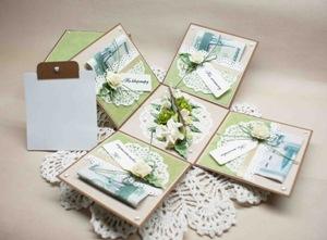 Денежный подарок на бумажную свадьбу
