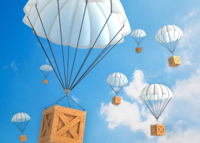 Грузовые парашюты