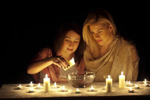 Гадание на свечах на детей