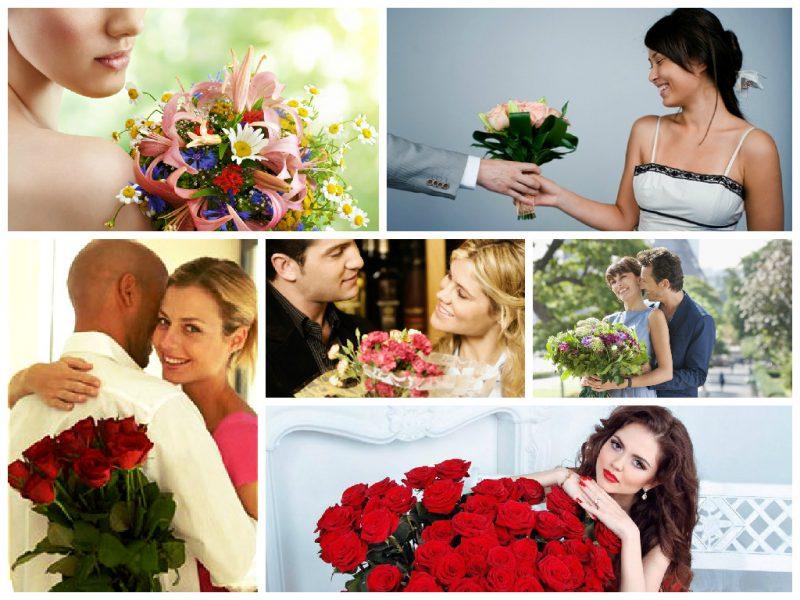 Как правильно подарить девушке цветы? Отвечает Игорь Лапин