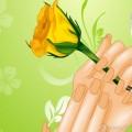Маникюр для романтического свидания