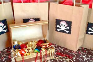 Награждение победителей конкурса пиратов