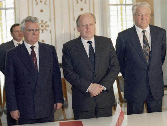 Подписание беловежского соглашения