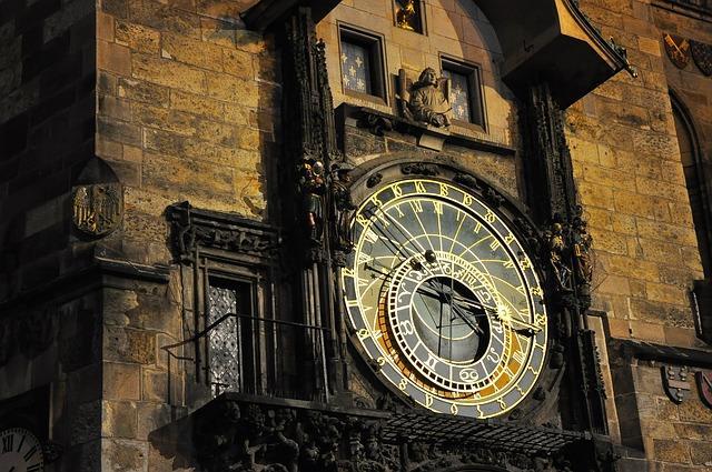 Астрологический календарь в Праге