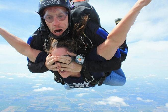 прыжок с инструктором парашютист прикол