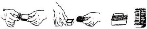 Схема фокуса со спичками