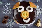 Торт на Новый год Кабана