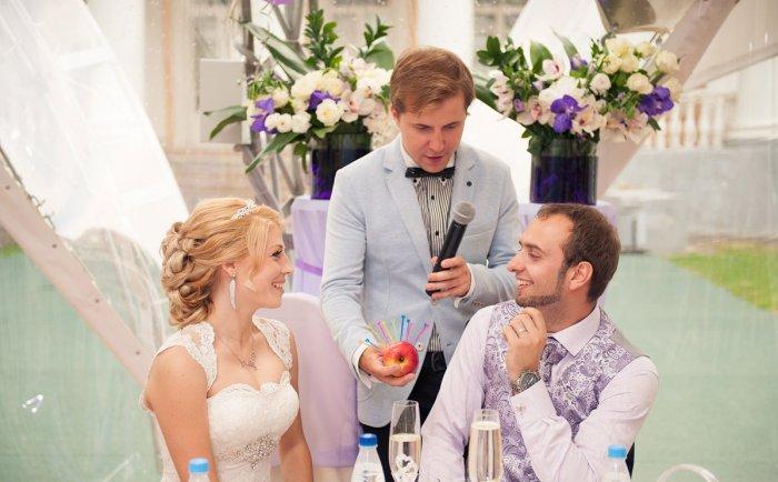 Свадебный конкурс для жениха и невесты