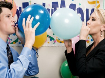 Игра с воздушными шариками