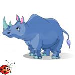стихи про носорога